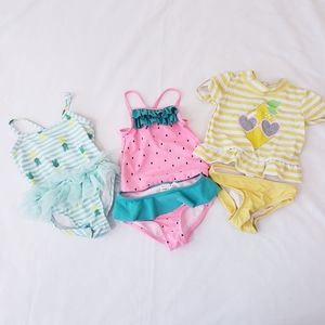 6-9 Month Swimsuits Baby Girl Tankini One Piece